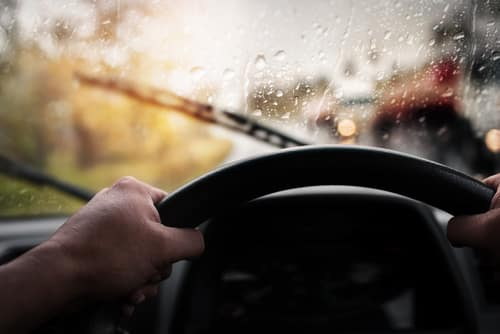 Tips on Driving in the rain from Toyota of N Charlotte.