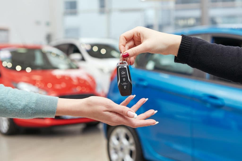 N Charlotte Toyota car key