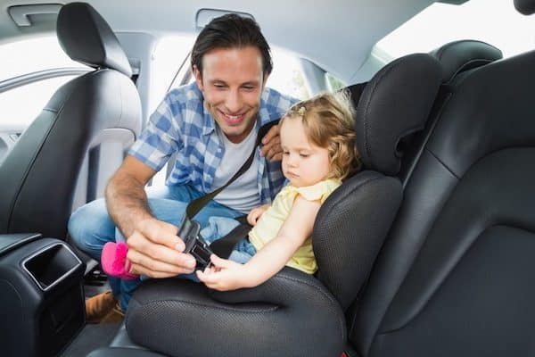 Toyota of N Charlotte goes over car seat safety tips