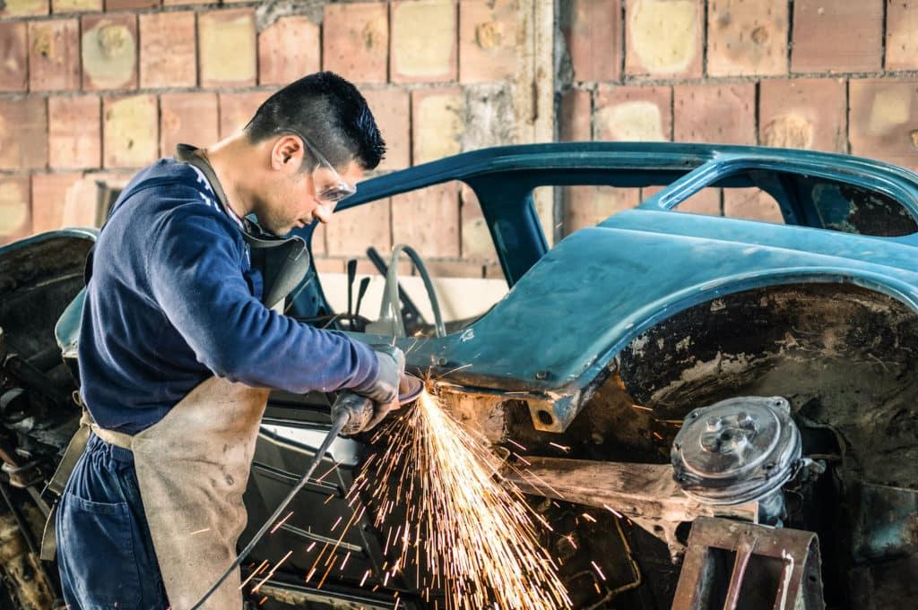 N Charlotte Toyota classic car restoration