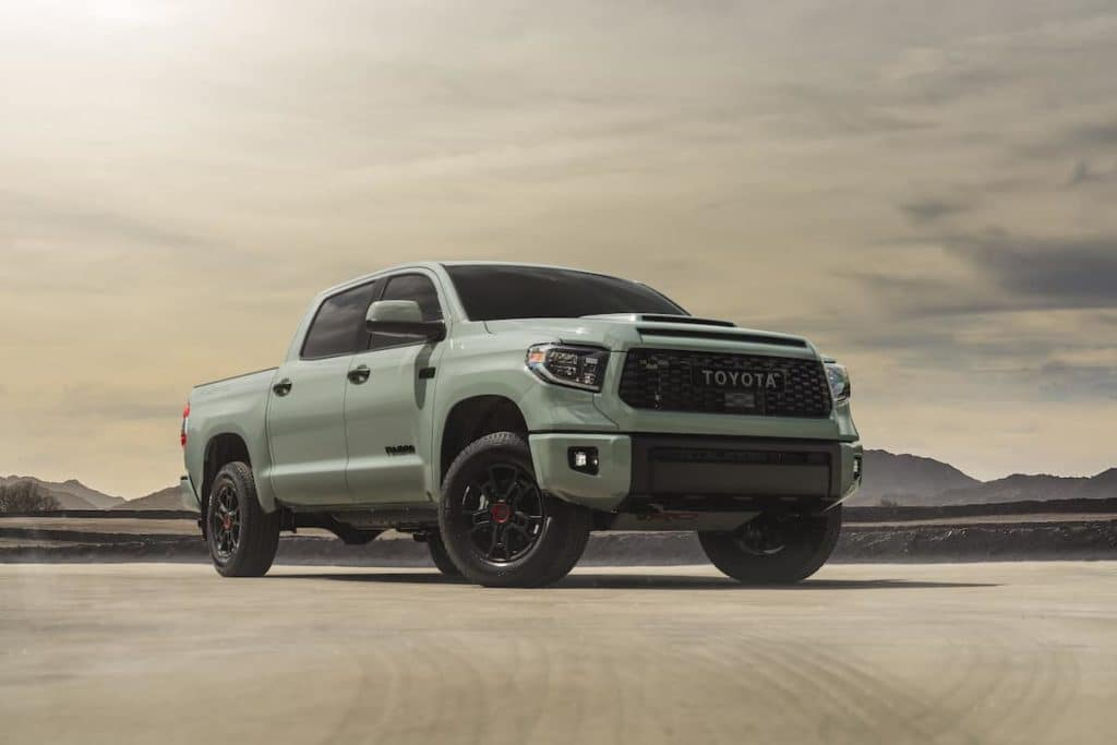 Check out the special edition Toyota Tundras arriving Toyota of N Charlotte soon.