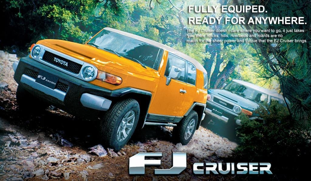 Toyota of N Charlotte tells you why the Toyota FJ Cruiser doesn't lose value.