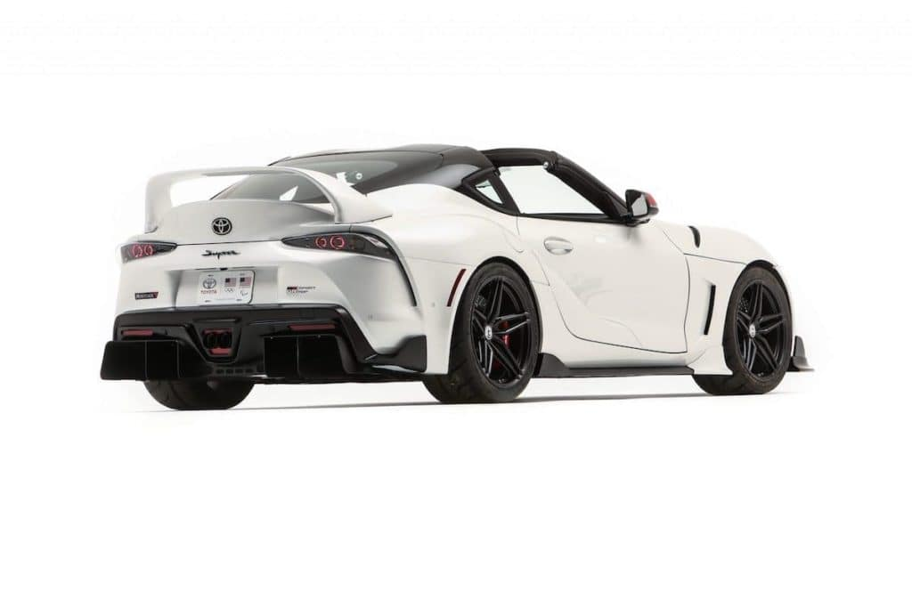 Toyota of N Charlotte shares unveiling of Toyota concepts and SEMA show.