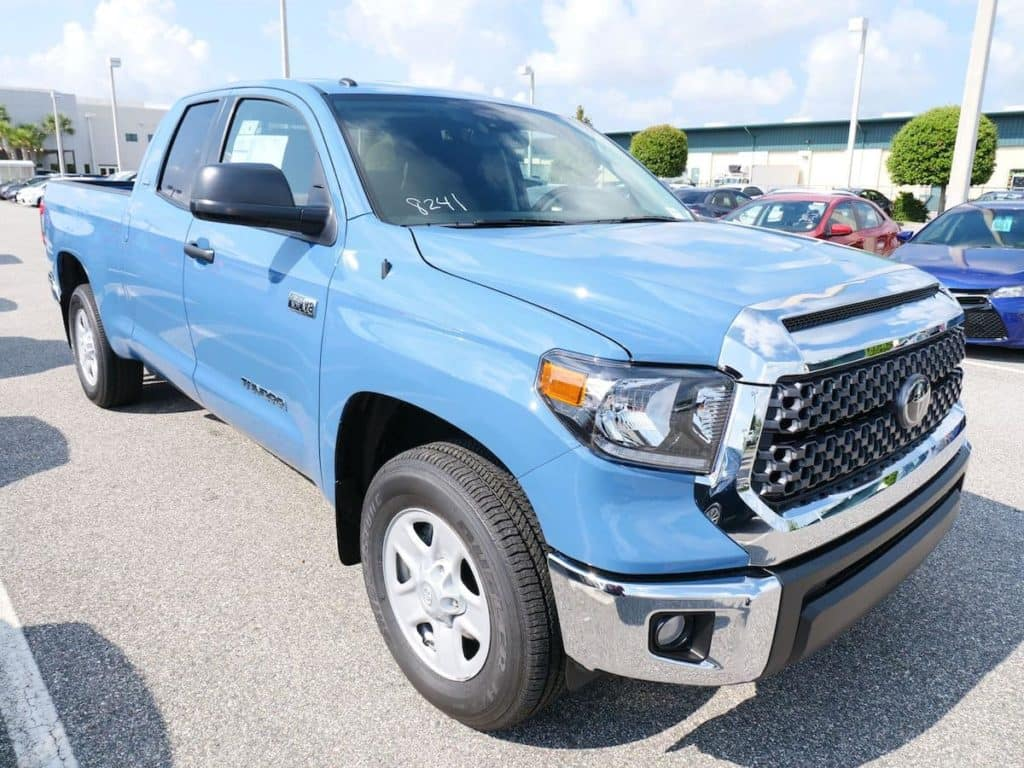 Check out the condition of the million mile Toyota Tundra. Toyota of N Charlotte has all the details.