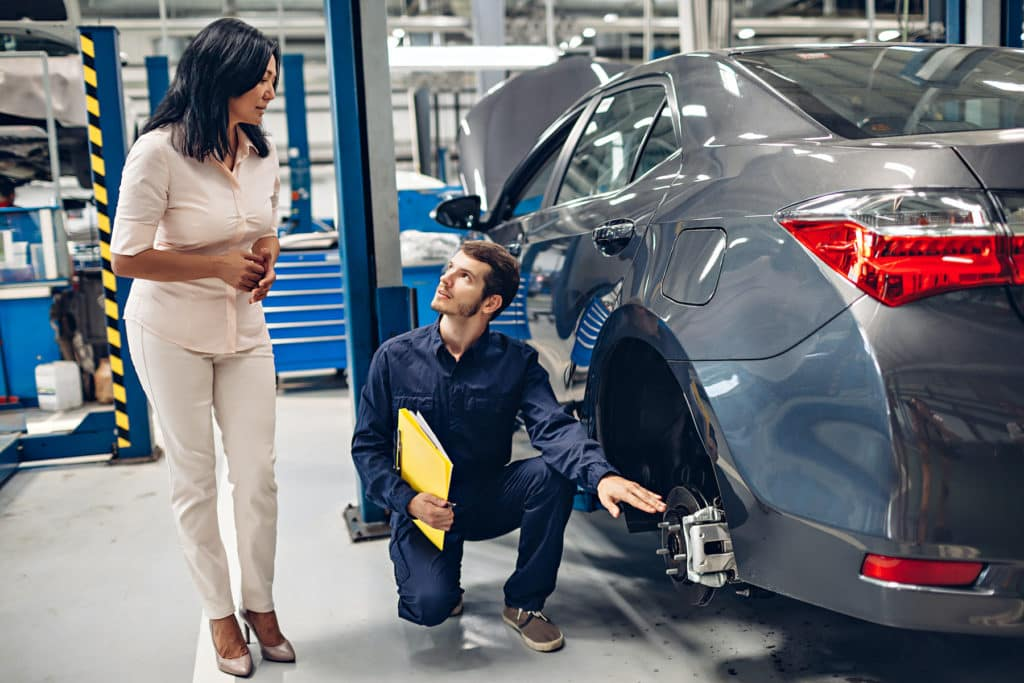 Auto service help at Toyota of North Charlotte