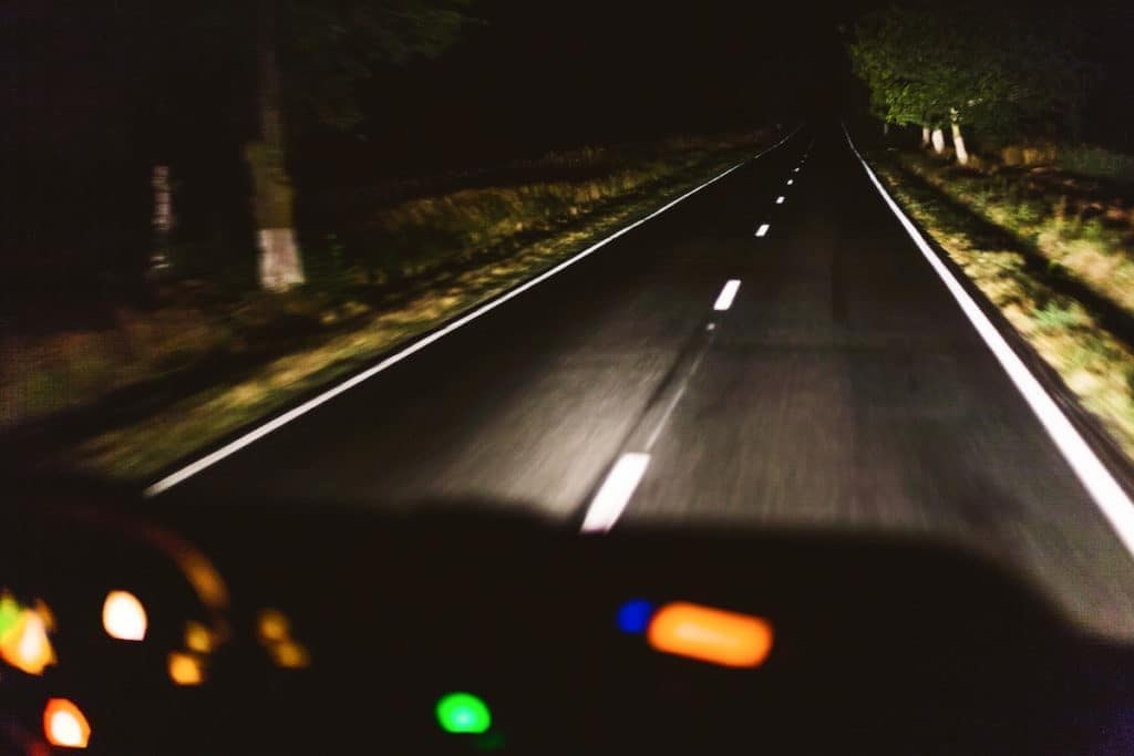 tips for driving at night by Toyota of N Charlotte