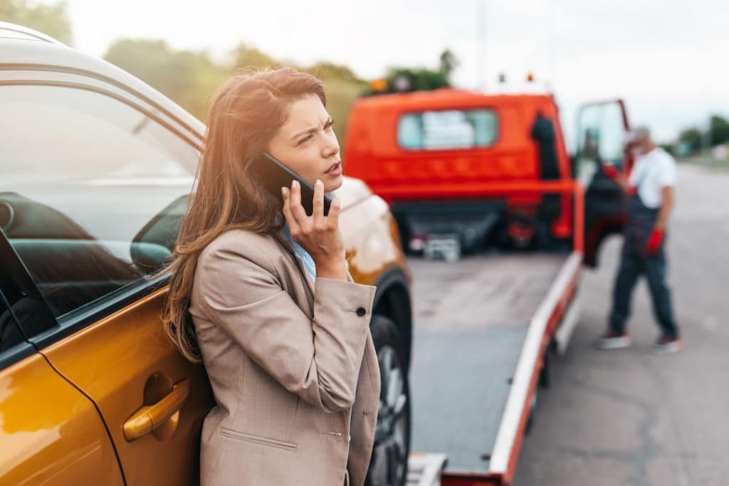 Toyota of N Charlotte goes over what to do in the event of a highway car emergency.