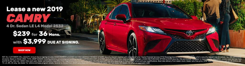 Camry LE Lease Offer