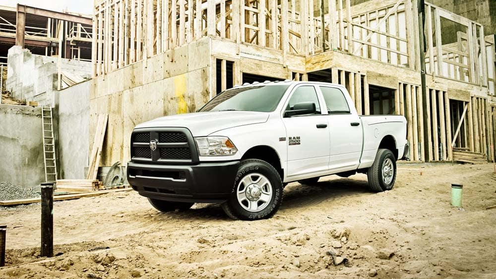 2018 Ram 2500 On Jobsite
