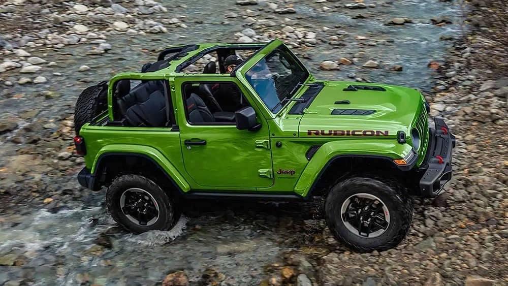 Green 2019 Jeep Wrangler