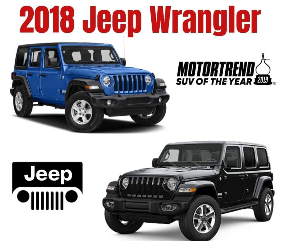 NEW 2018 JEEP WRANGLER UNLIMITED SPORT S 4X4