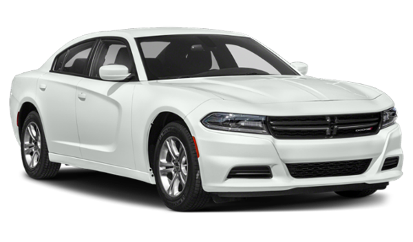 2019 Dodge Charger white facing right