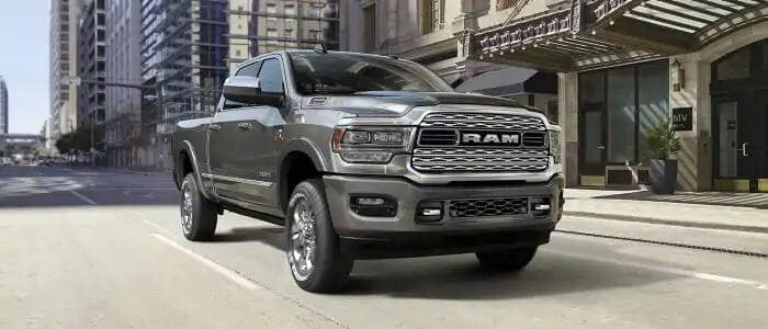 2019 Ram 2500 In The city