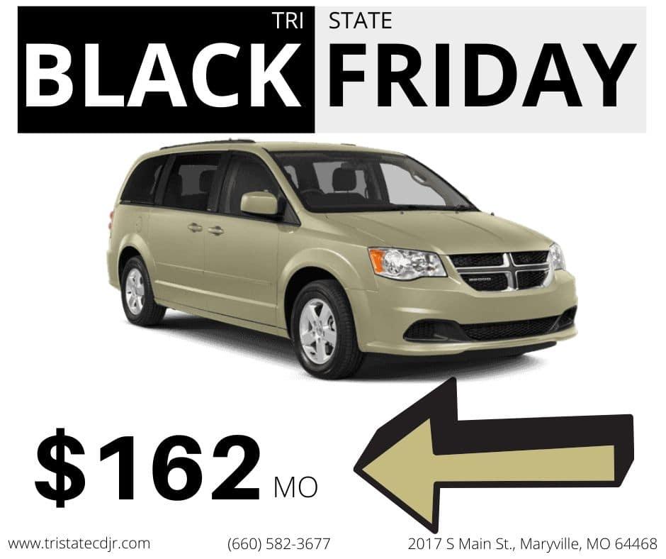 Black Friday deal 1 - Used 2016 Dodge Grand Caravan