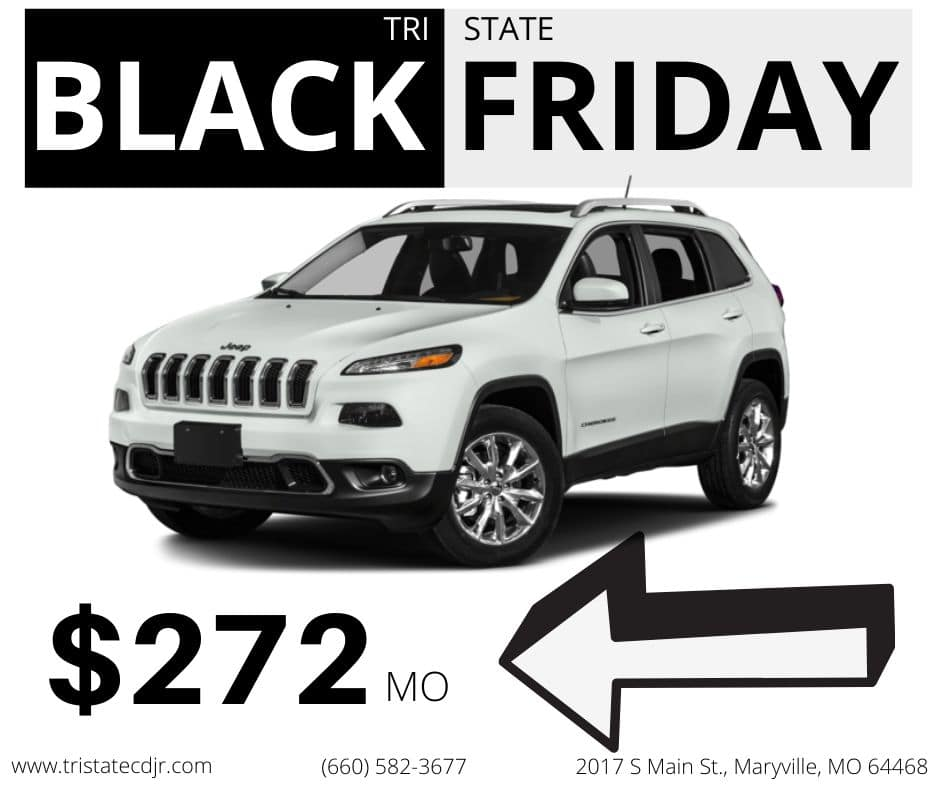 Black Friday deal 2 - Used 2016 Jeep Cherokee