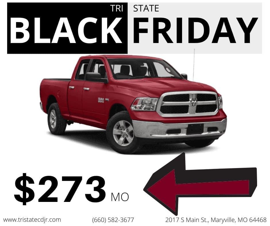 Black Friday deal 4 - Used 2015 RAM 1500 Big Horn