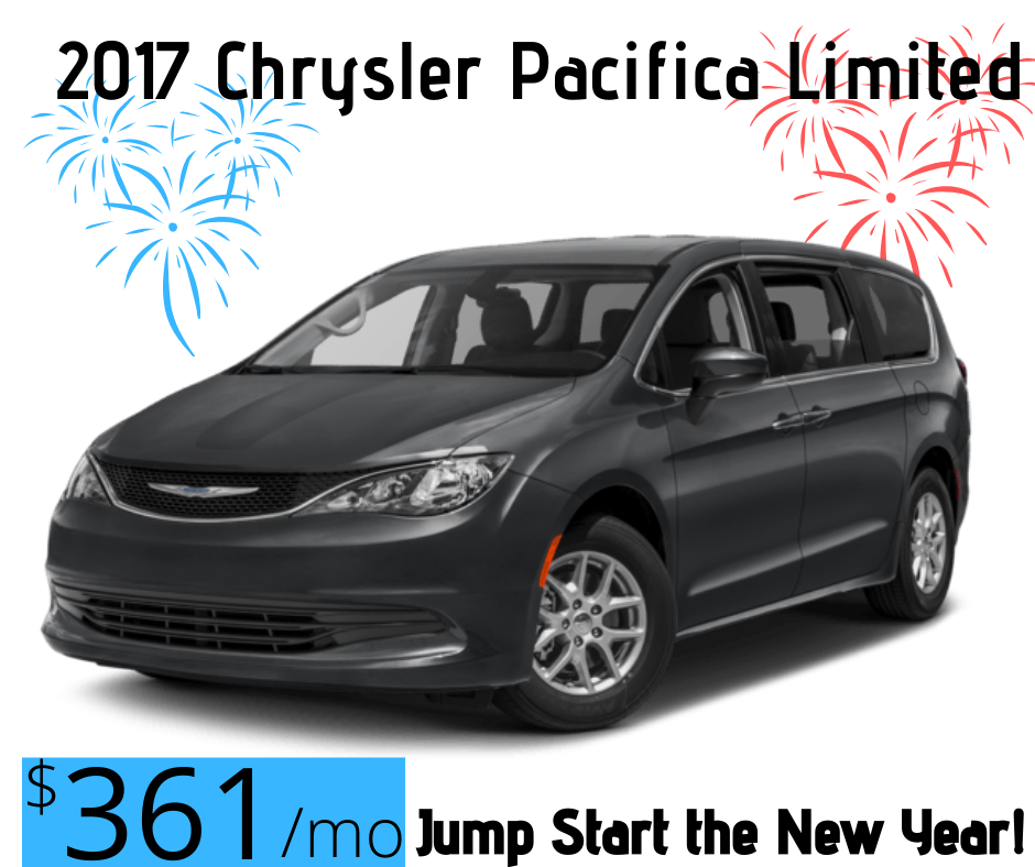 Bring On the New Year 2017 Chrysler Pacifica Special