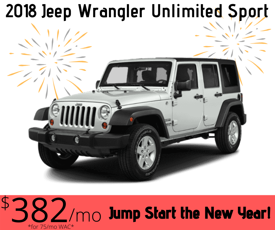 Bring on the New Year 2018 Jeep Wrangler Unlimited