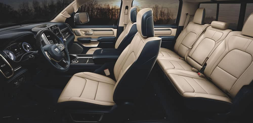 2020-Ram-1500-Limited-interior-seating
