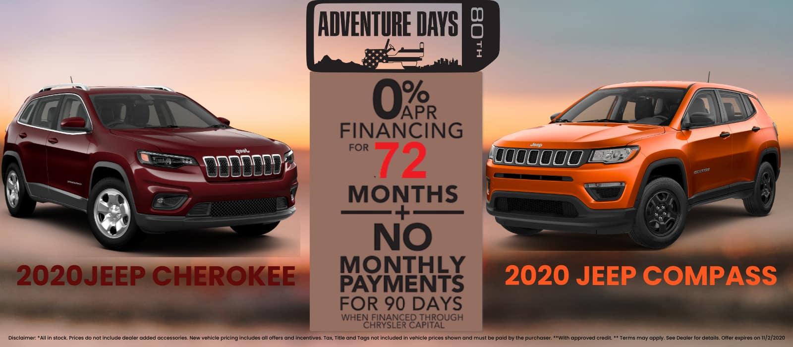 2020 Jeep Chero Campass special