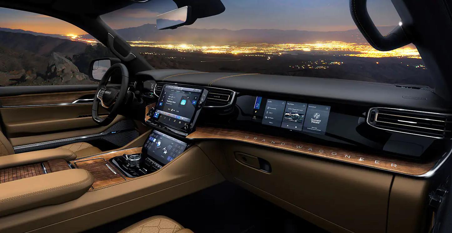 2022 wagoneer interior