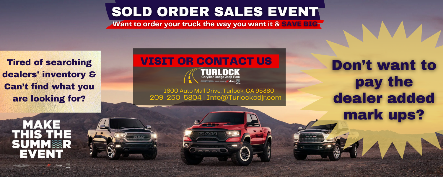 truck sold orders