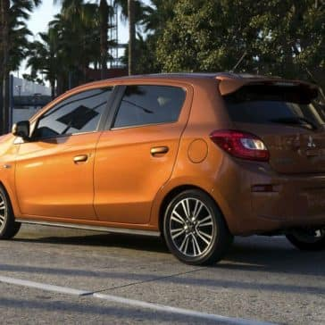 2018 Mitsubishi Mirage GT rear