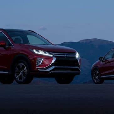 Mitsubishi Eclipse Cross Front and Back