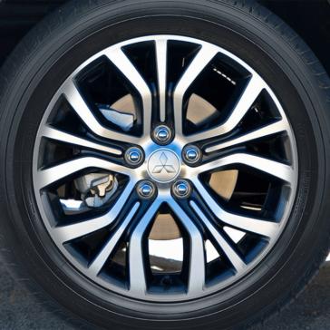 Mitsubishi Outlander Sport 2018 alloy wheels 1