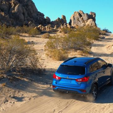 Mitsubishi Outlander Sport 2018 desert 1