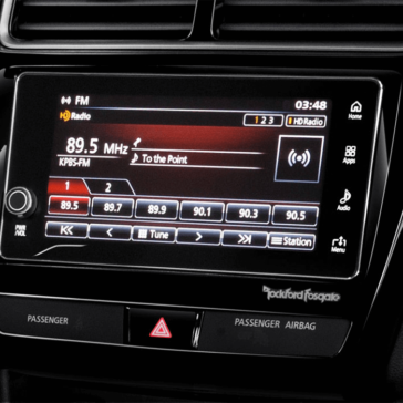 Mitsubishi Outlander Sport 2018 touchscreen display 1
