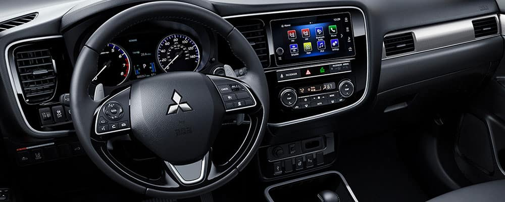 2019 Outlander steering wheel