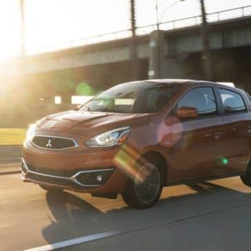 2019-Mitsubishi-Mirage-driving-on-the-highway