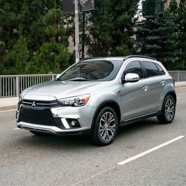 2019-Mitsubishi-Outlander-Sport-on-the-road