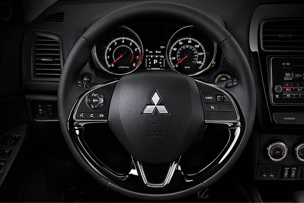 2019-Mitsubishi-Outlander-Sport-steering-wheel