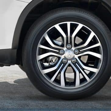 2019-Mitsubishi-Outlander-Sport-two-tone-alloy-wheels