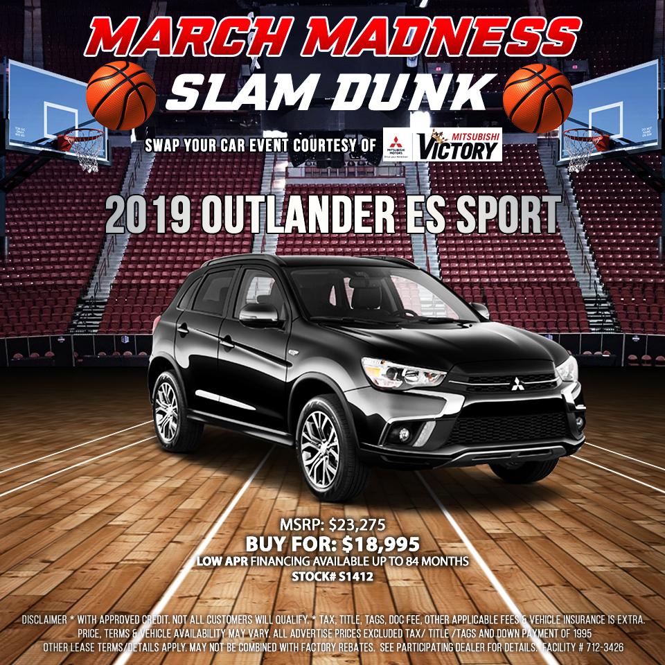 2019 Mitsubishi Outlander ES Sport