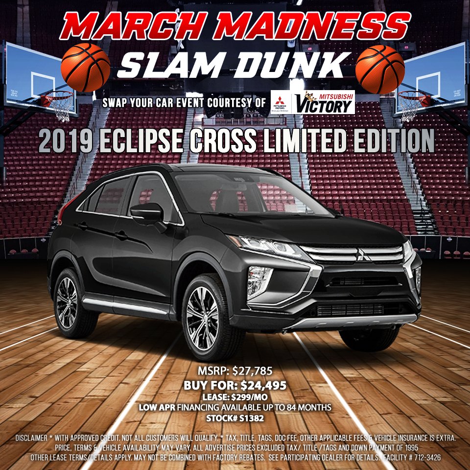 2019 Mitsubishi Eclipse Cross Limited Edition