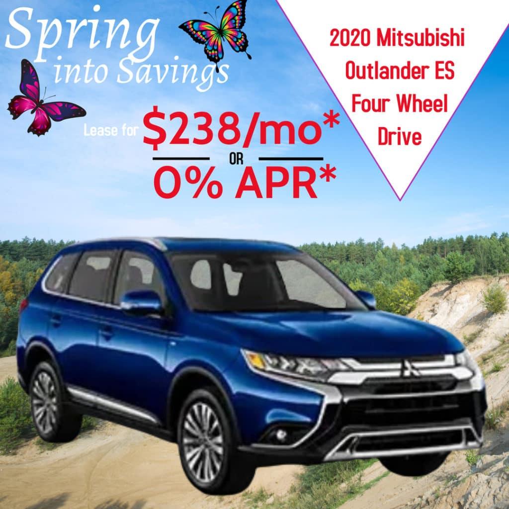 2020  Mitsubishi Outlander 4WD