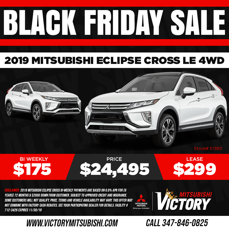 New 2019 Mitsubishi Eclipse Cross