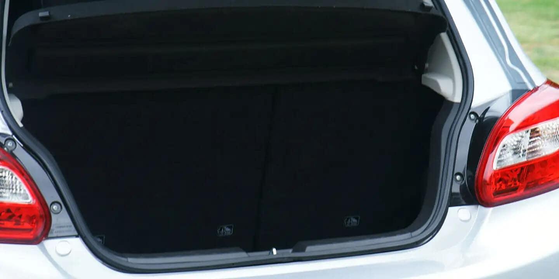 2020 Mitsubishi Mirage Trunk Space