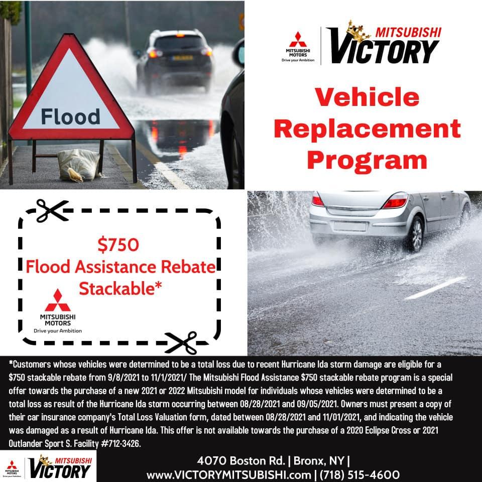 $750 Flood Assistance Rebate