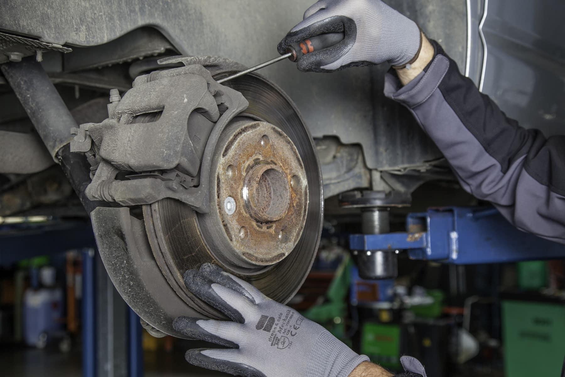 brake pad check