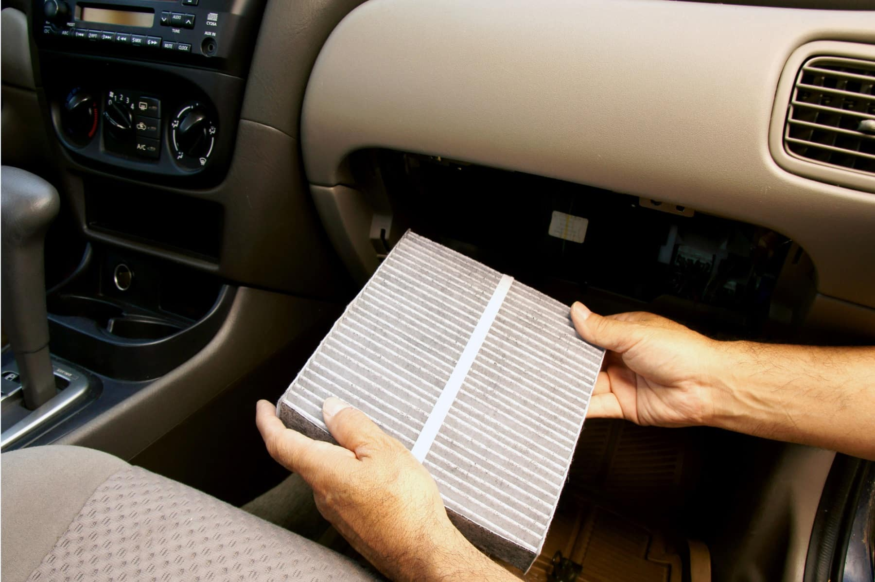 in car cabin filter