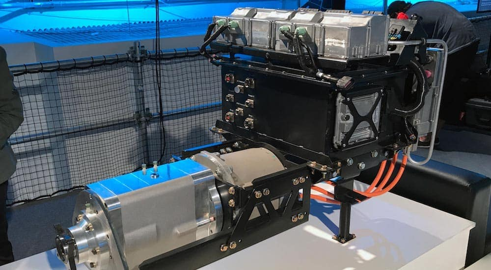 The power plant for the new Ford F-150 EV