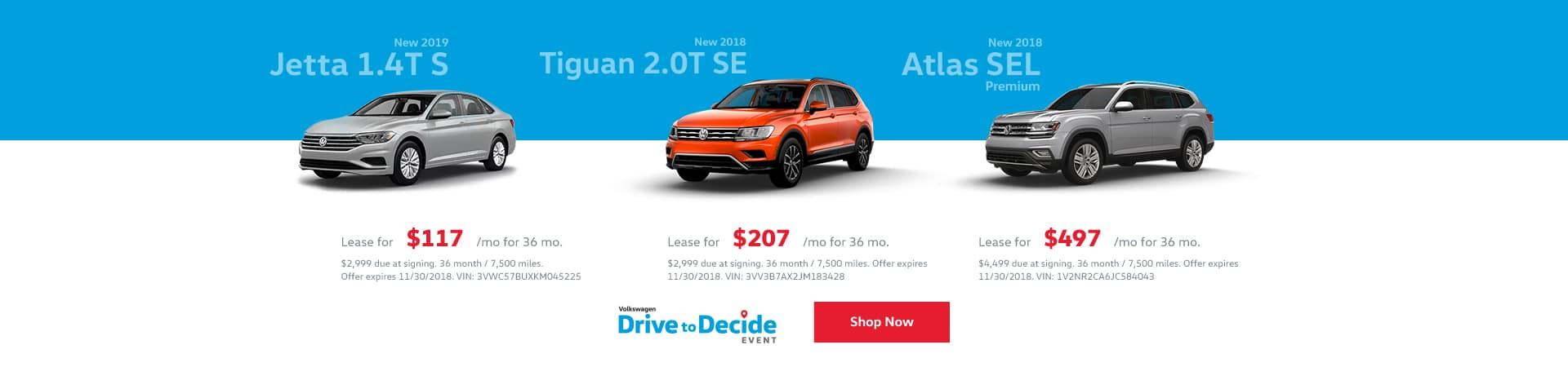 November Lease Offers