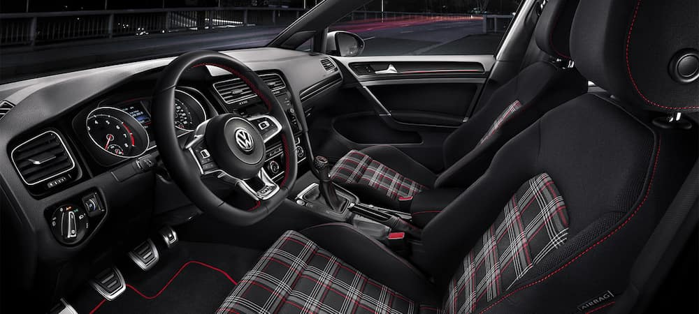 Golf GTI front seat interior