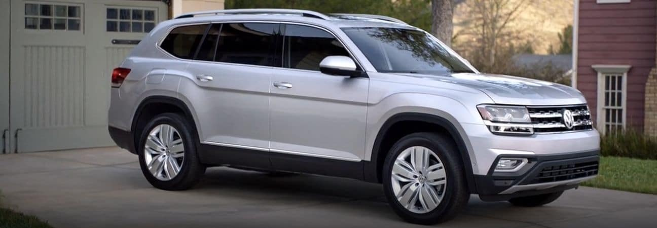 2019 Volkswagen Atlas Grey SUV