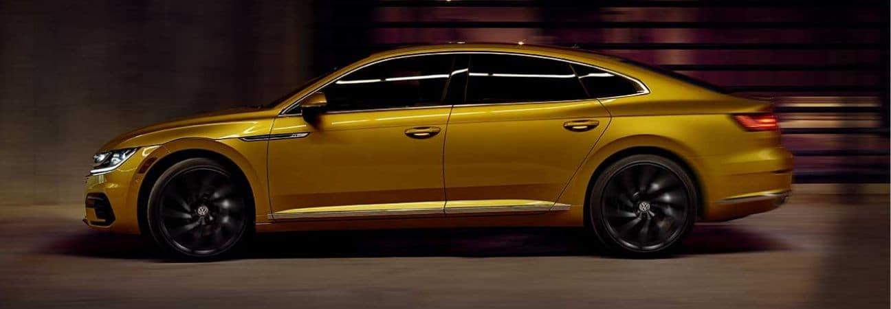 2019 Volkswagen Arteon gold sedan