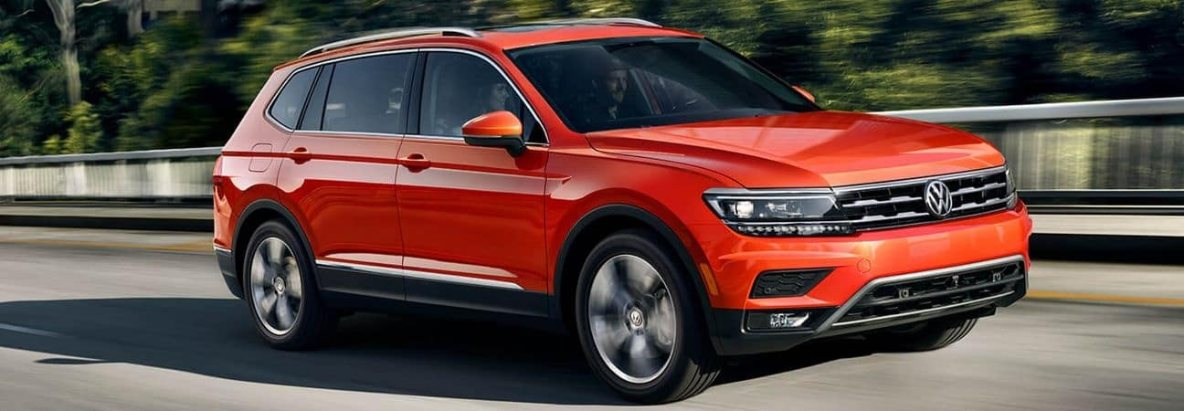 2019 VW Tiguan red SUV